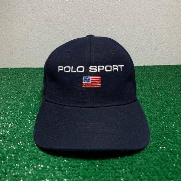 3674b958 Vintage Polo Sport BL Men's SnapBack Hat. M_5c74c6733e0caa8a9fbdc577